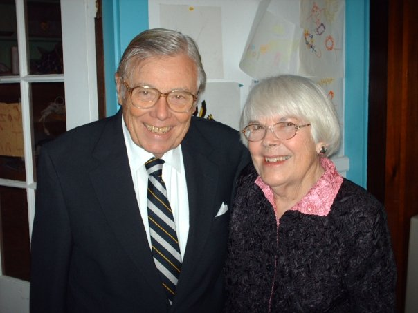 My Grampa and his beloved wife, my dear Gaga.