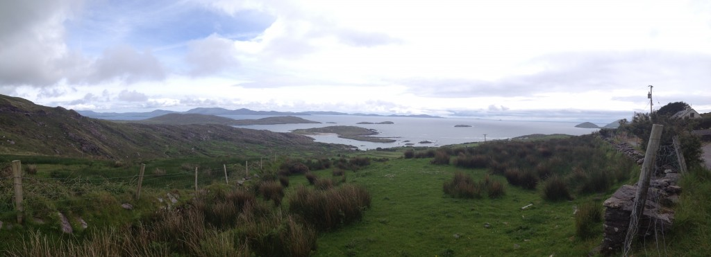 One of the last panoramas I'll get to take in Ireland.
