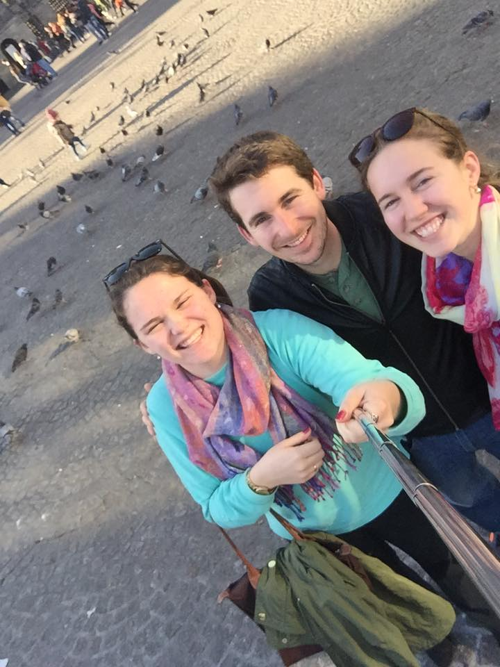 Our adventures in Amsterdam involved a picture with some pigeons as I failed to get the right angle with the selfie stick. Harder than it looks!