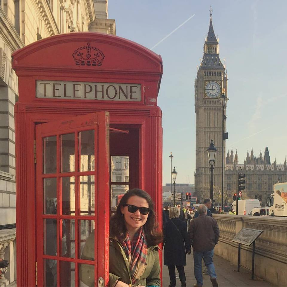 I got to pretend I was in a Mary-Kate & Ashley movie while in London!
