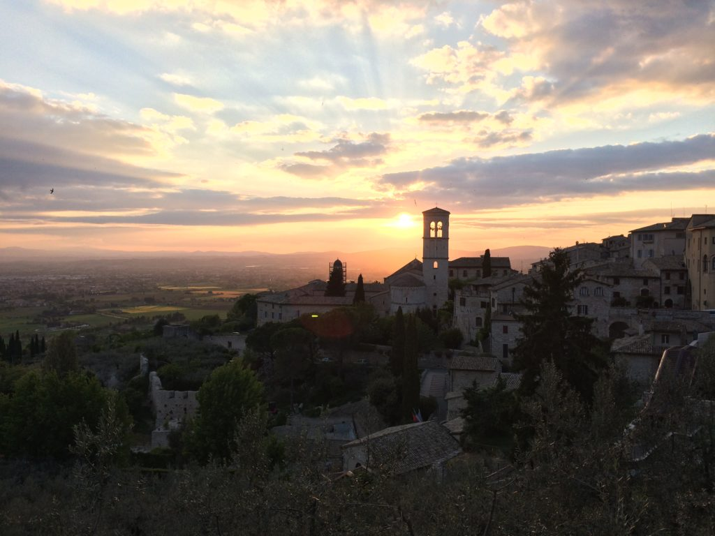 Yeah, the Easter Holiday was pretty magical (Assisi, Italy).