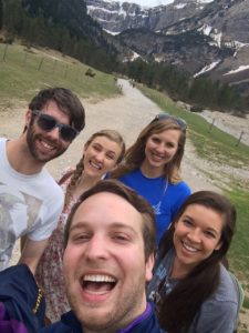 How does Teach Bhride - Wexford escape the world for a little bit? By hiking in the Pyrenees, of course.